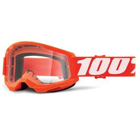 100% Strata Anti-Fog Goggles Gen2 orange/clear